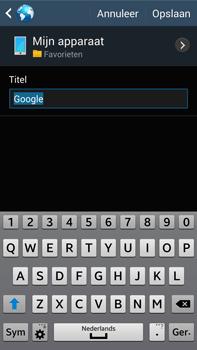 Samsung N9005 Galaxy Note III LTE - Internet - Hoe te internetten - Stap 8