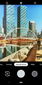 Google Pixel 3 - Photos, vidéos, musique - Créer une vidéo - Étape 7