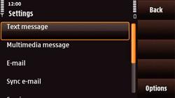 Nokia N97 Mini - SMS - Manual configuration - Step 5
