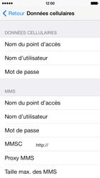 Apple iPhone 5c - Internet - Configuration manuelle - Étape 6