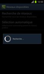 Samsung Galaxy S II - Réseau - Sélection manuelle du réseau - Étape 8