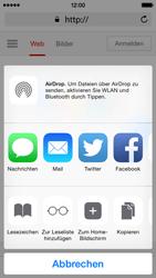 Apple iPhone 5c - iOS 8 - Internet und Datenroaming - Verwenden des Internets - Schritt 6