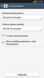 Samsung I9505 Galaxy S IV LTE - E-mail - Account instellen (IMAP met SMTP-verificatie) - Stap 16