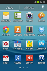 Samsung S6810P Galaxy Fame - SMS - Manual configuration - Step 3
