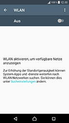 Sony Xperia XZ - WLAN - Manuelle Konfiguration - 5 / 9