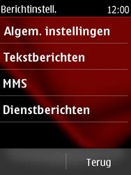 Nokia Asha 300 - SMS - handmatig instellen - Stap 5