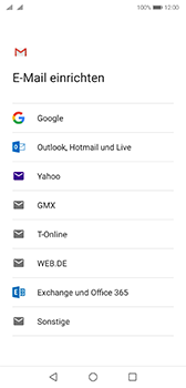 Huawei P20 - Android Pie - E-Mail - 032a. Email wizard - Gmail - Schritt 7