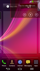 LG D955 G Flex - Getting started - Installing widgets and applications on your start screen - Step 8