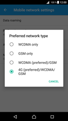 Sony E5823 Xperia Z5 Compact - Android Nougat - Network - Change networkmode - Step 8