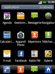 LG C660 Optimus Pro - E-mail - envoyer un e-mail - Étape 2