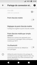 Sony Xperia XZ1 - Internet et connexion - Partager votre connexion en Wi-Fi - Étape 6