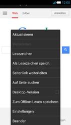 Alcatel One Touch Idol S - Internet und Datenroaming - Verwenden des Internets - Schritt 8