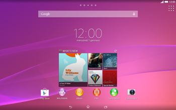 Sony Xperia Tablet Z2 LTE - Bluetooth - Collegamento dei dispositivi - Fase 1