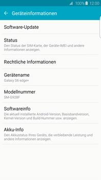 Samsung Galaxy S6 edge+ (G928F) - Software - Installieren von Software-Updates - Schritt 6