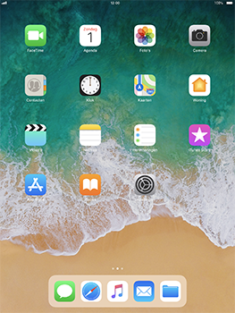 Apple iPad Pro 10.5 inch - iOS 11 - Applicaties - Account aanmaken - Stap 2