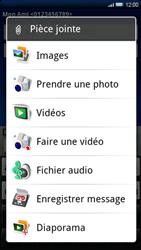 Sony Ericsson Xperia X10 - MMS - envoi d'images - Étape 10