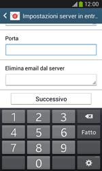 Samsung Galaxy Ace III - E-mail - configurazione manuale - Fase 10