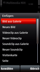 Nokia 5800 Xpress Music - MMS - Erstellen und senden - Schritt 17