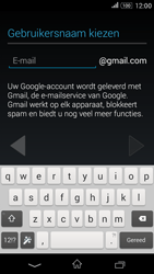 Sony Xperia E4g (E2003) - Applicaties - Account aanmaken - Stap 7
