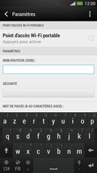 HTC One - Internet et connexion - Partager votre connexion en Wi-Fi - Étape 10
