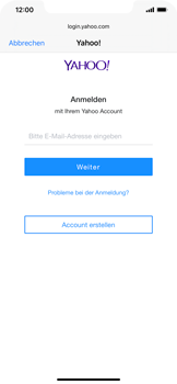 Apple iPhone XR - iOS 13 - E-Mail - 032b. Email wizard - Yahoo - Schritt 6