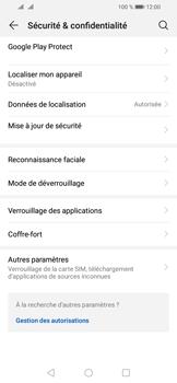 Huawei Y6 (2019) - Appareil - configurer Localiser mon appareil - Étape 4