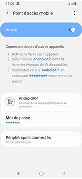 Samsung Galaxy A40 - Internet - comment configurer un point d'accès mobile - Étape 12