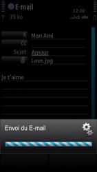 Nokia X6-00 - E-mail - envoyer un e-mail - Étape 13