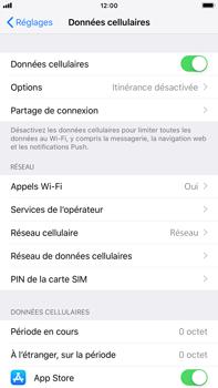Apple iPhone 6 Plus - iOS 12 - Réseau - Changer mode réseau - Étape 4