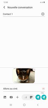 Samsung Galaxy S20 - Contact, Appels, SMS/MMS - Envoyer un MMS - Étape 21