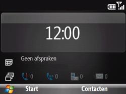 HTC S521 Snap - E-mail - handmatig instellen - Stap 1