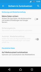Sony E6553 Xperia Z3+ - Fehlerbehebung - Handy zurücksetzen - Schritt 7