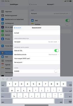Apple ipad-pro-11-inch-2018-model-a1934 - E-mail - Account instellen (IMAP zonder SMTP-verificatie) - Stap 25