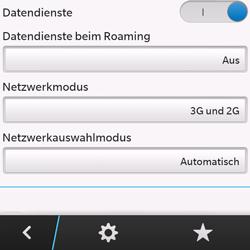BlackBerry Q10 - Internet und Datenroaming - Deaktivieren von Datenroaming - Schritt 8