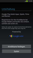 Samsung Galaxy S III - Apps - Einrichten des App Stores - Schritt 13