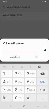 Samsung Galaxy A70 - voicemail - handmatig instellen - stap 9