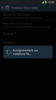 Samsung Galaxy Note III LTE - Réseau - Sélection manuelle du réseau - Étape 9