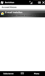 HTC T8585 HD II - e-mail - handmatig instellen - stap 4