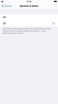 Apple iPhone 7 Plus - iOS 14 - Netzwerk - So aktivieren Sie eine 4G-Verbindung - Schritt 6