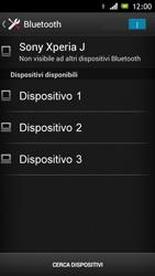 Sony Xperia J - Bluetooth - Collegamento dei dispositivi - Fase 6