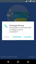Sony Xperia X Performance - E-Mail - Konto einrichten (outlook) - 11 / 18