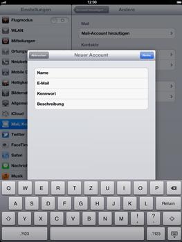 Apple iPad 3 - E-Mail - Konto einrichten - Schritt 9