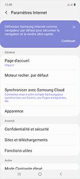 Samsung Galaxy A51 - Internet et roaming de données - Configuration manuelle - Étape 27
