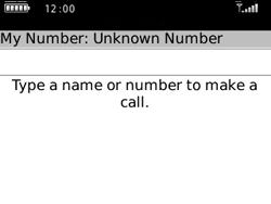 BlackBerry 8520 Curve - Voicemail - Manual configuration - Step 3