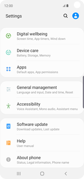 Samsung Galaxy S10e - Applications - How to uninstall an app - Step 4