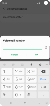 Samsung Galaxy S10 - Voicemail - Manual configuration - Step 12