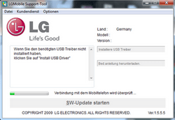 LG KP500 Cookie - Software - Update - Schritt 3