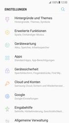 Samsung Galaxy S6 - Android Nougat - Apps - Eine App deinstallieren - Schritt 4