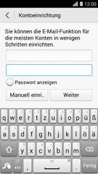 Huawei Ascend Y550 - E-Mail - Konto einrichten (yahoo) - 0 / 0