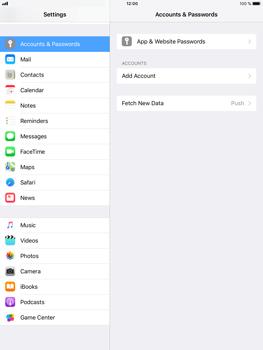 Apple iPad Air 2 - iOS 11 - E-mail - Manual configuration POP3 with SMTP verification - Step 5